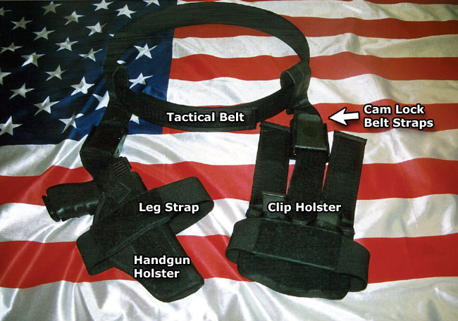Gun holster concealed carry system, belt optional